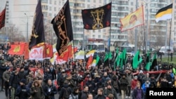 Акция националистов «Русский марш» в Москве