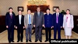 بدھ کو چینی وفد نے صدر ممنون حسین سے ملاقات کی