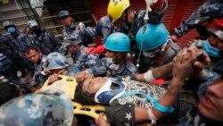 U.S. Aids Nepal Quake Victims