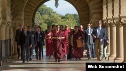 The Karmapa at Stanford (karmapaamerica2015.org)