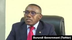 Umushikiranganji w'amagara y'abantu mu Burundi Thadee Ndikumana