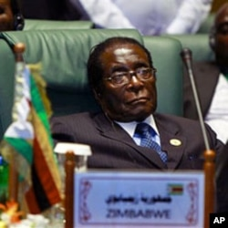 Zimbabwe's President Robert Mugabe, during the 2nd Afro- Arab summit in Sirte, Libya, 10 Oct 2010