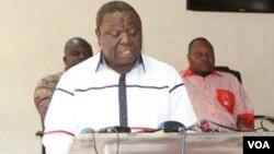 Opposition MDC-T leader Morgan Tsvangirai.