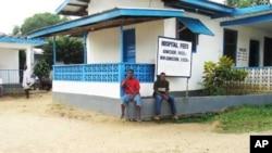 Une clinique au Libéria