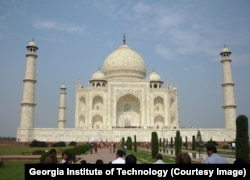 FILE - The Taj Mahal attracts millions of visitors each year.