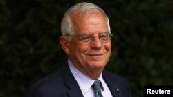 Le chef de la diplomatie espagnole, Josep Borrell, Madrid, Espagne, le 8 juin 2018.
