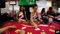 La empresa Las Vegas Sands opera el mayor casino del mundo en Macao, China.