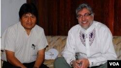 Chávez dijo que la ultraderecha usará la excusa de que Bolivia prepara una carrera armamentista contra Paraguay.