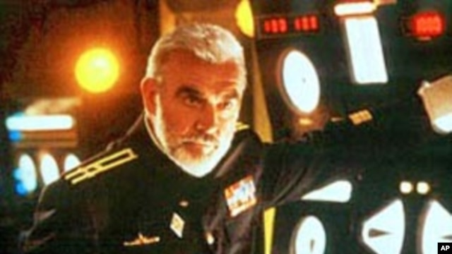 "Sean Connery and Alec Baldwin in 1990's ""The Hunt for Red October,"" which did not portray the Soviets as caricatures."