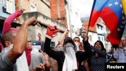 Biểu tình phản đối chính phủ tại Venezuela