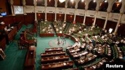 Une vue générale de l'Assemblée constituante de la Tunisie