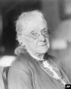 美国第一位女参议员丽贝卡.费尔顿