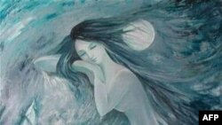 Nguyệt Quỳnh, tranh Thanh Luân