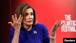 Prezidan Chanm Dèreprezantan Etazini an Nancy Pelosi