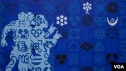 """""""Starkid,"""" Owusu-Ankomaha, iz Gane, jedno od djela izloženih u Nacionalnom muzeju za afričku umjetnost u Washingtonu"""