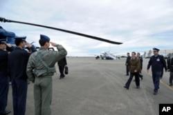 马英九18日视察屏东空军基地导弹演习