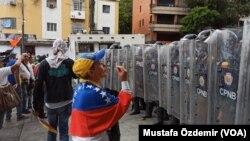 Venezuela protest rally
