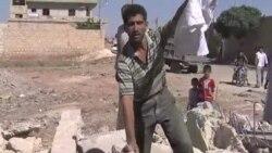 Жители сирийских деревень покидают их из-за обстрелов