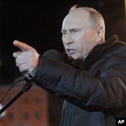 Putin deydiki, hukumatga qarshi namoyishlar ortida AQSh turibdi