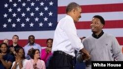 奥巴马总统称国际经济和贸易准则不应由中共主导