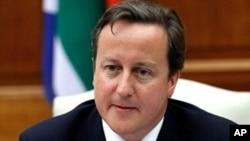 英国首相卡梅伦(资料照片)