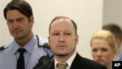 Bị can vụ nổ súng ở Na Uy Anders Behring Breivik