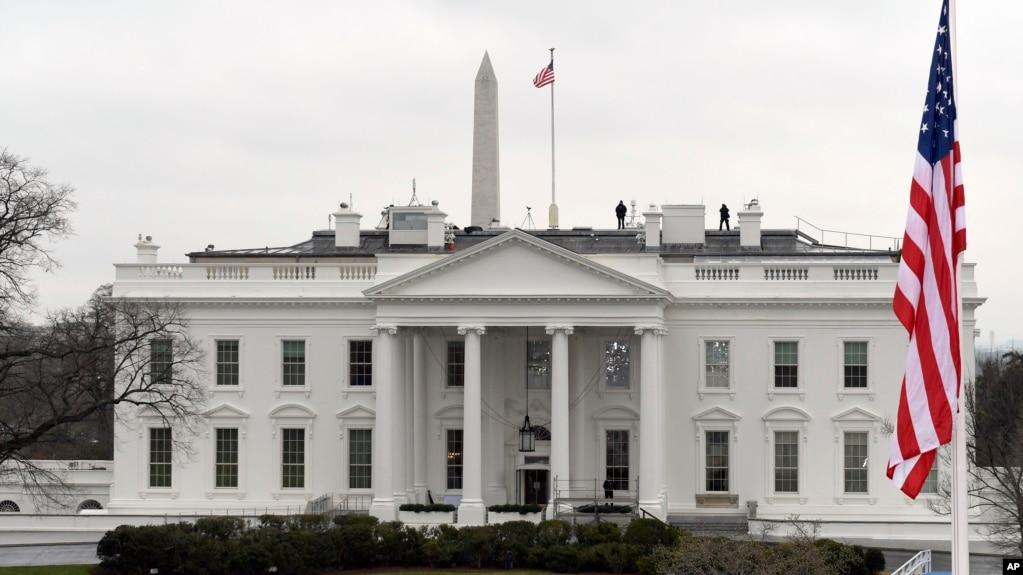 미 백악관 전경.