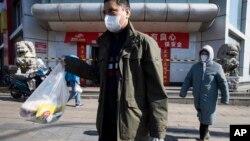 北京市民到超市購物