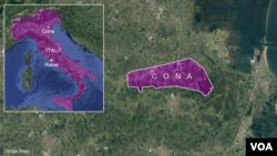 Cona Italy