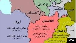 پیښه د ایران په جنوب ختیځه برخه کې شوی