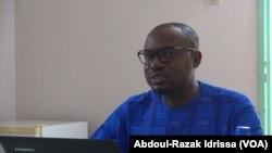Souleymane Lamine, doctorant, à Niamey, le 4 septembre 2019. (VOA/Abdoul-Razak Idrissa)