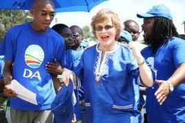 The DA has aggressively sought black South Africans' votes ahead of the 2011 local government polls