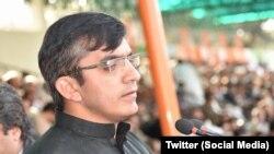 پی ٹی ایم کے رہنما اور ممبر قومی اسمبلی محسن داوڑ۔ فائل