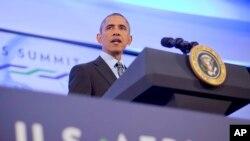 Obama dalam KTT Amerika-Afrika