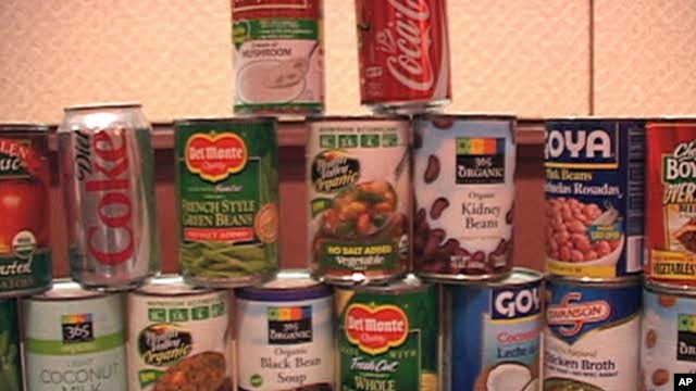 A new study by a coalition of environmental health groups found that 46 out of 50 cans of food tested positive for high levels of BPA, a chemical used as a protective coating in cans.