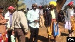 Abanye abantu ababuye emkhosini wokugcoba uMnu. Stanley Raphael Khumalo.