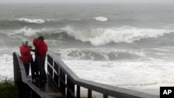 Tempête en Caroline du nord aux USA, 2 octobre 2015.