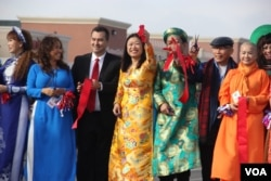 Nghị sĩ Janet Nguyễn tại một sinh hoạt với cộng đồng gốc Việt tại Quận Cam, California. (Hình: www.janet2018.com/photos/)