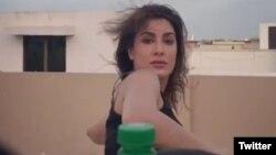 Mehwish Hayat Bottle Cap Challenge