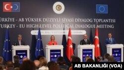Réunion de dialogue politique Turquie-UE.