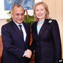 Salam Bachir et Hillary Clinton le 22 Avril 2011