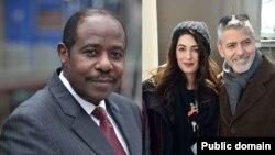 Paul Rusesabagina i bumoso, George na Amal Clooney i buryo