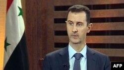 叙利亚总统阿萨德2012年8月29号接受采访时发表谈话