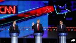 2016-cı ildə partiyadaxili debatlar Respubikaçıların yekun namizədinin müəyyən edilməsində mühüm rol oynadı.