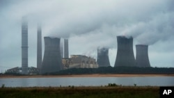 2014年6月1日乔治亚州舍雷尔燃煤电厂