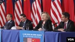 Dialog Strategi dan Ekonomi Tiongkok AS di Washington