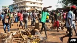 Protestos em Conakry, 21 de Fevereiro, 2017.