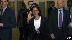 美国驻联合国大使赖斯11月29日在联合国总部