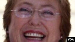 ທ່ານນາງ Michelle Bachelet ຊະນະການເລືອກຕັ້ງ ປະທານາທິບໍດີ ຮອບທຳອິດ ໃນປະເທດ Chile