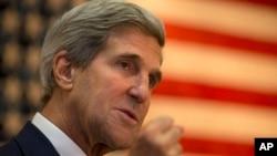 Menteri Luar Negeri Amerika John Kerry mengatakan jendela diplomasi tentang program nuklir Iran terbuka menjelang perundingan baru antara Iran dan negara-negara Barat. (AP/Jacquelyn Martin)